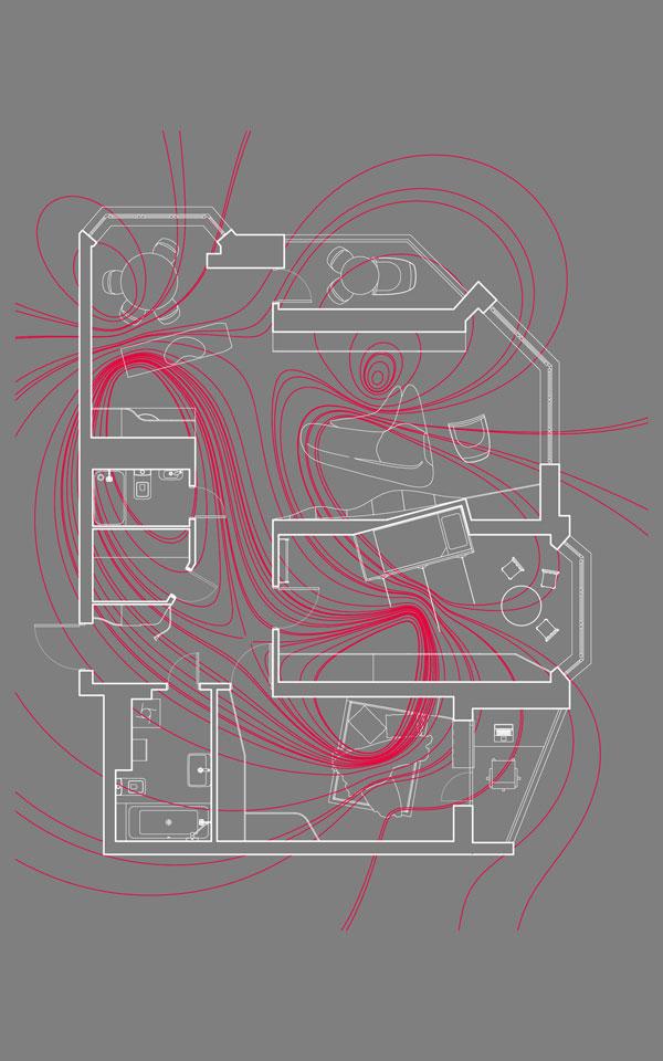 параметрический дизайн квартиры магнитное поле