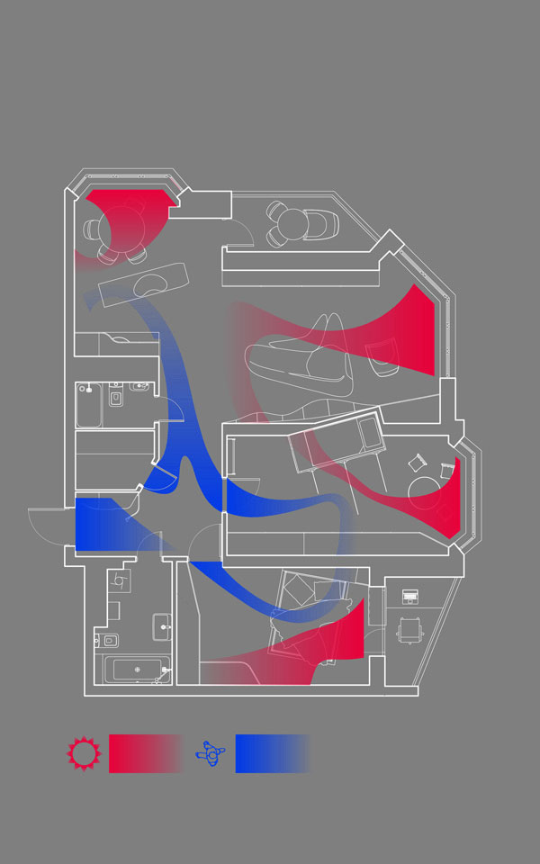 параметрический дизайн квартиры киев, украина