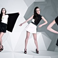 Трехмерное пространство для колекции одежды Трансформ для бренда Sqviral