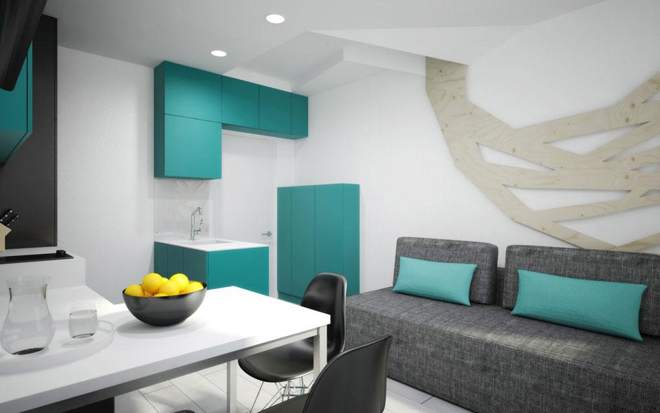 лико град - дизайн квартиры в киеве