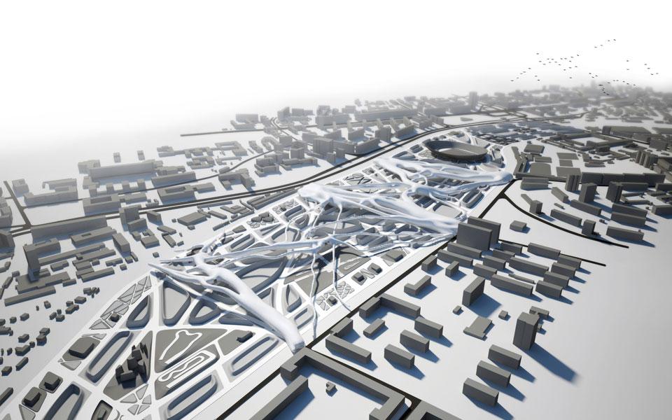 параметрическая архитектура - вагонное депо киев пассажирский