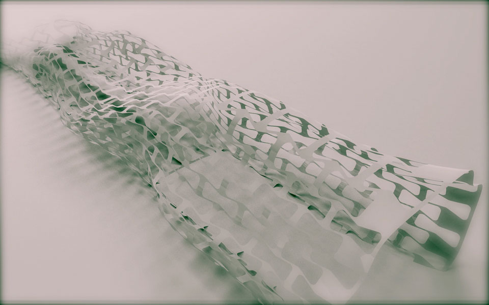 параметрическая архитектура - проект музея одежды