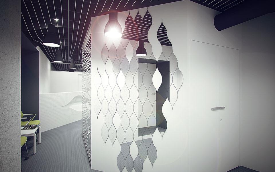 параметрический дизайн киев - интерьер офиса