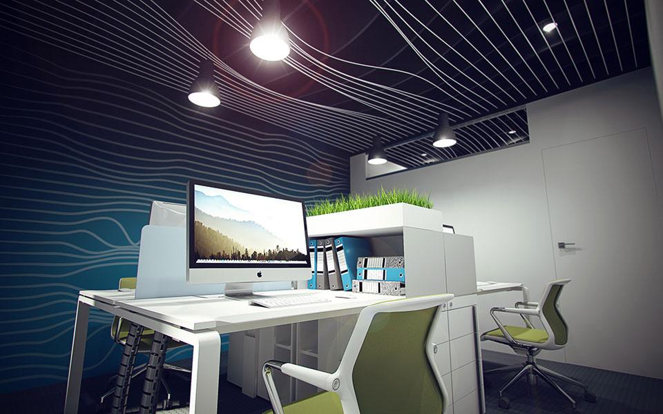 параметрическая архитектура - дизайн офиса киев