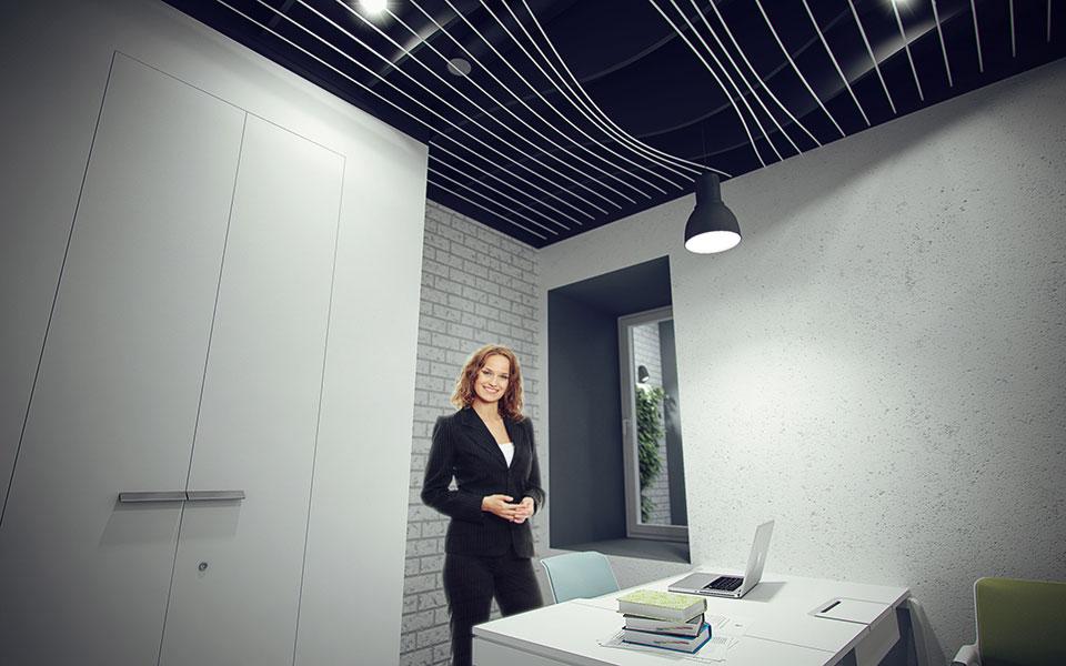 дизайн кабинета директора - офис киев