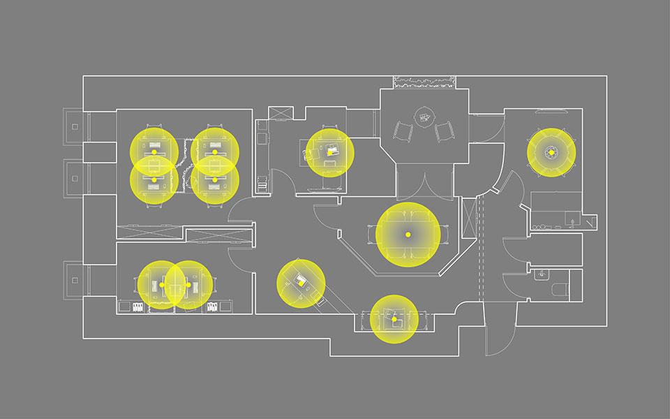 дизайн офиса киев - параметрический интерьер