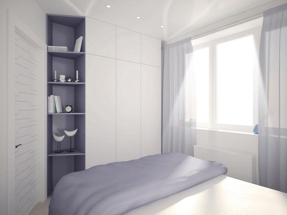 параметрический дизайн - интерьер квартиры москва