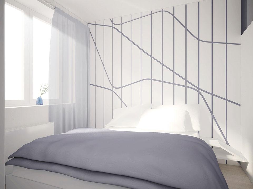 дизайн квартиры москва интерьер спальни