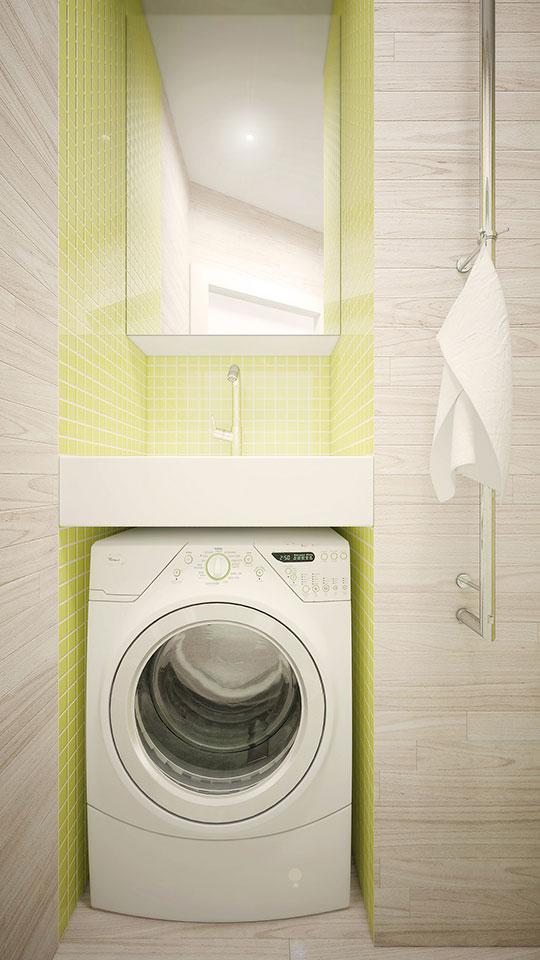 дизайн квартиры москва - интерьер ванной