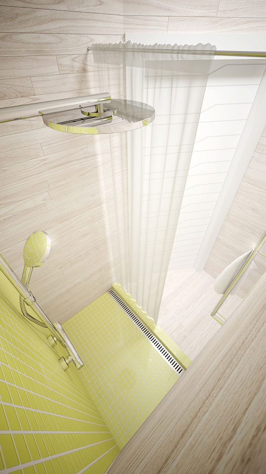 дизайн интерьера ванной - параметрика москва