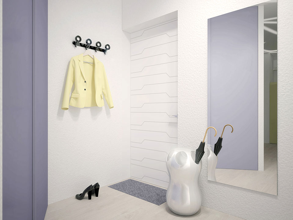 дизайн квартиры москва - параметрический интерьер