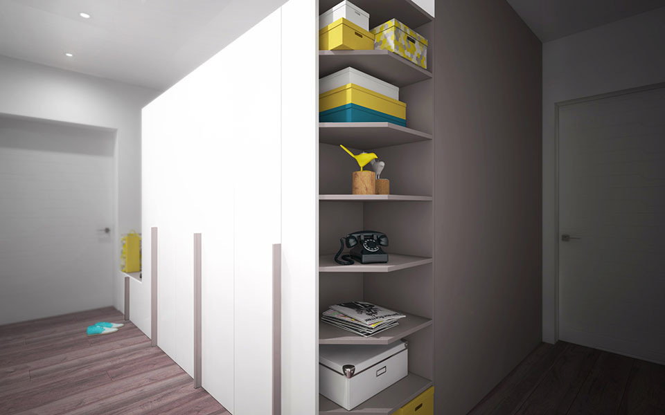 интерьер квартиры москва - дизайн прихожей