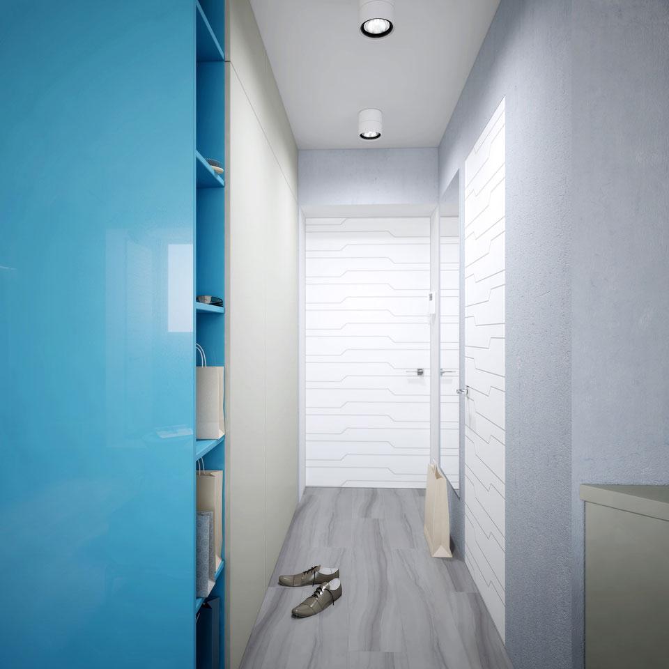 москва дизайн интерьера - хрущевка студия