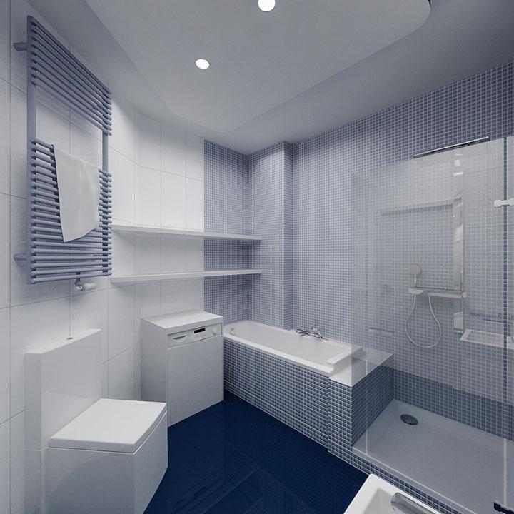 дизайн інтер'єру сучасної ванної