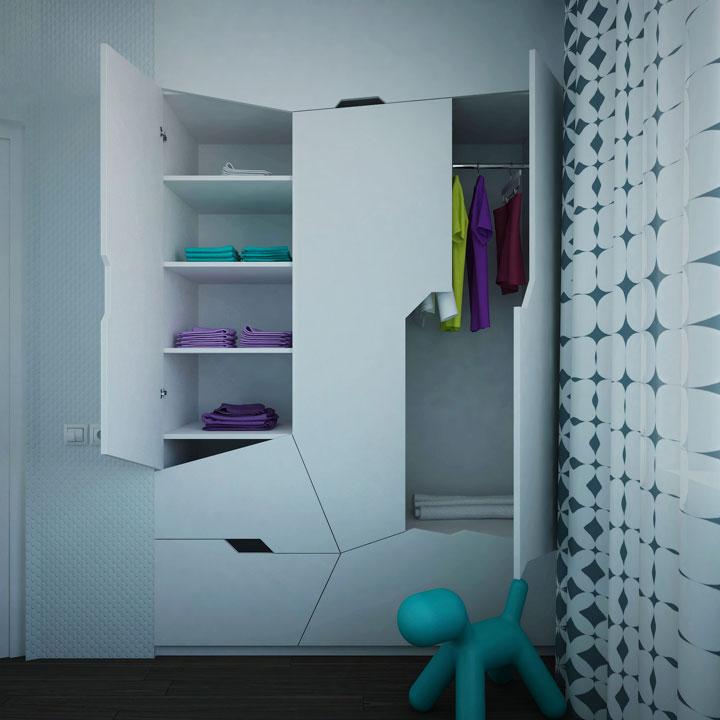 київ, квартира на ірпінській: дизайн спальні
