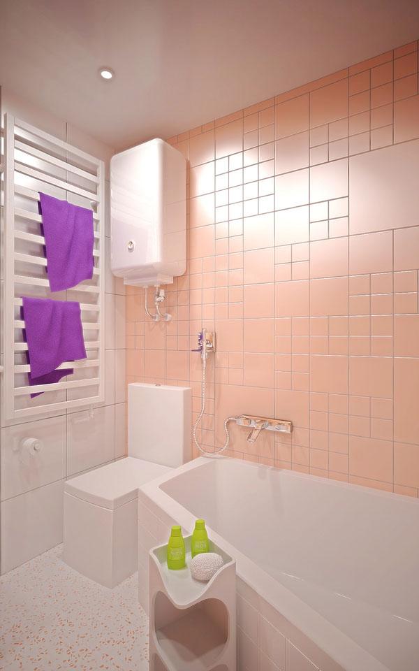 дизайн інтер'єру ванной в києві