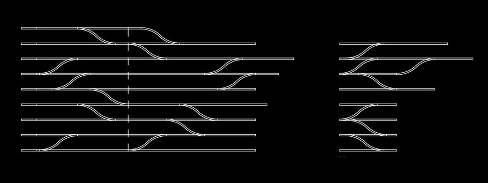 креслення параметричних книжкових полиць