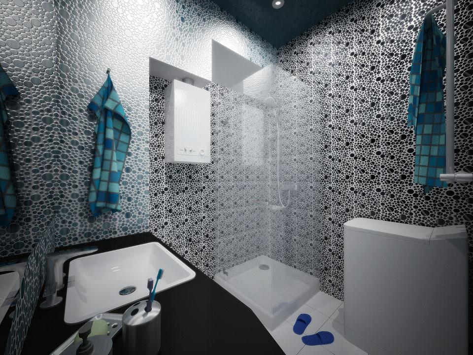 дизайн інтер'єру ванної та санвузла в москві