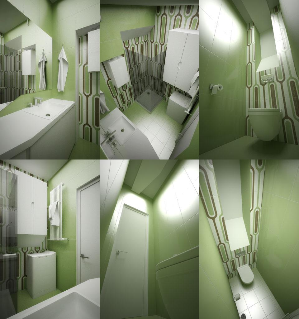 процес проектування ванної та санвузла