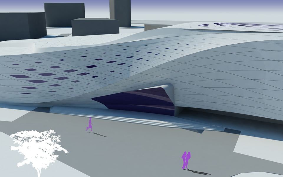 архітектура спортивних споруд - проект фітнес клубу
