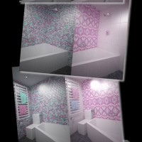 колірне рішення, дизайн ванної кімнати