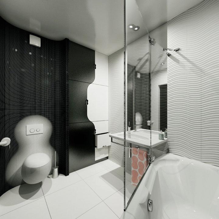 сучасний дизайн ванної кімнати - київ