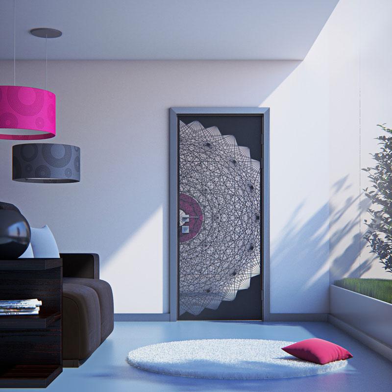 промдизайн - двері наяда, дигітальне проектування