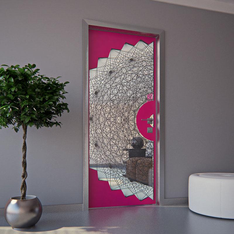 предметний дизайн - алгоритмічні двері для наяди