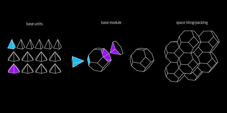параметричний дизайн лого - платонові тіла