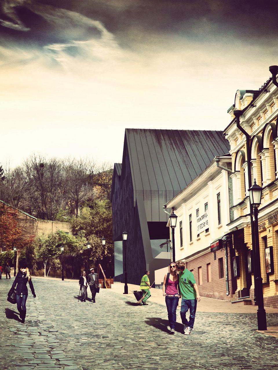 андріївський конкурс - архітектурна концепція культурного простору