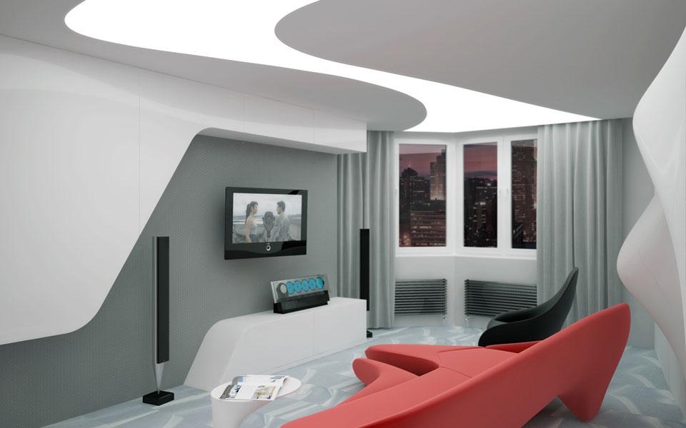 параметричний дизайн квартири на урлівській 40