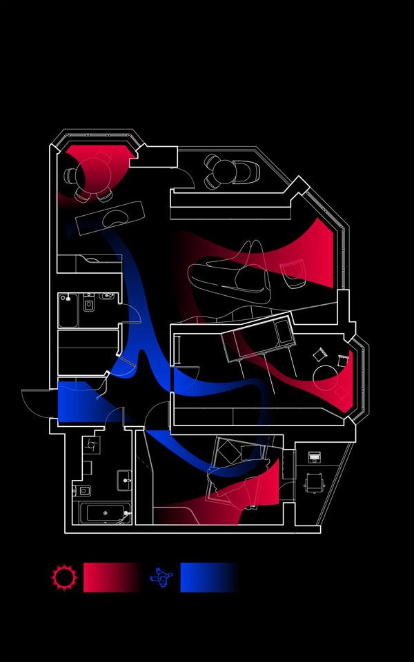 параметричний дизайн квартири, київ, україна