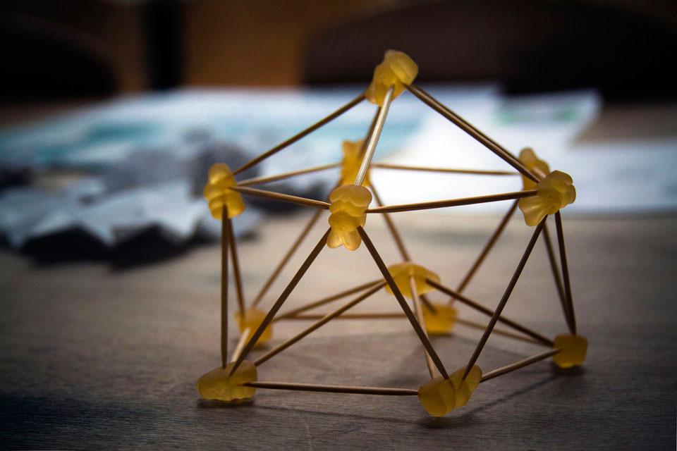 параметрична архітектура кнуба - желатинові ведмедики
