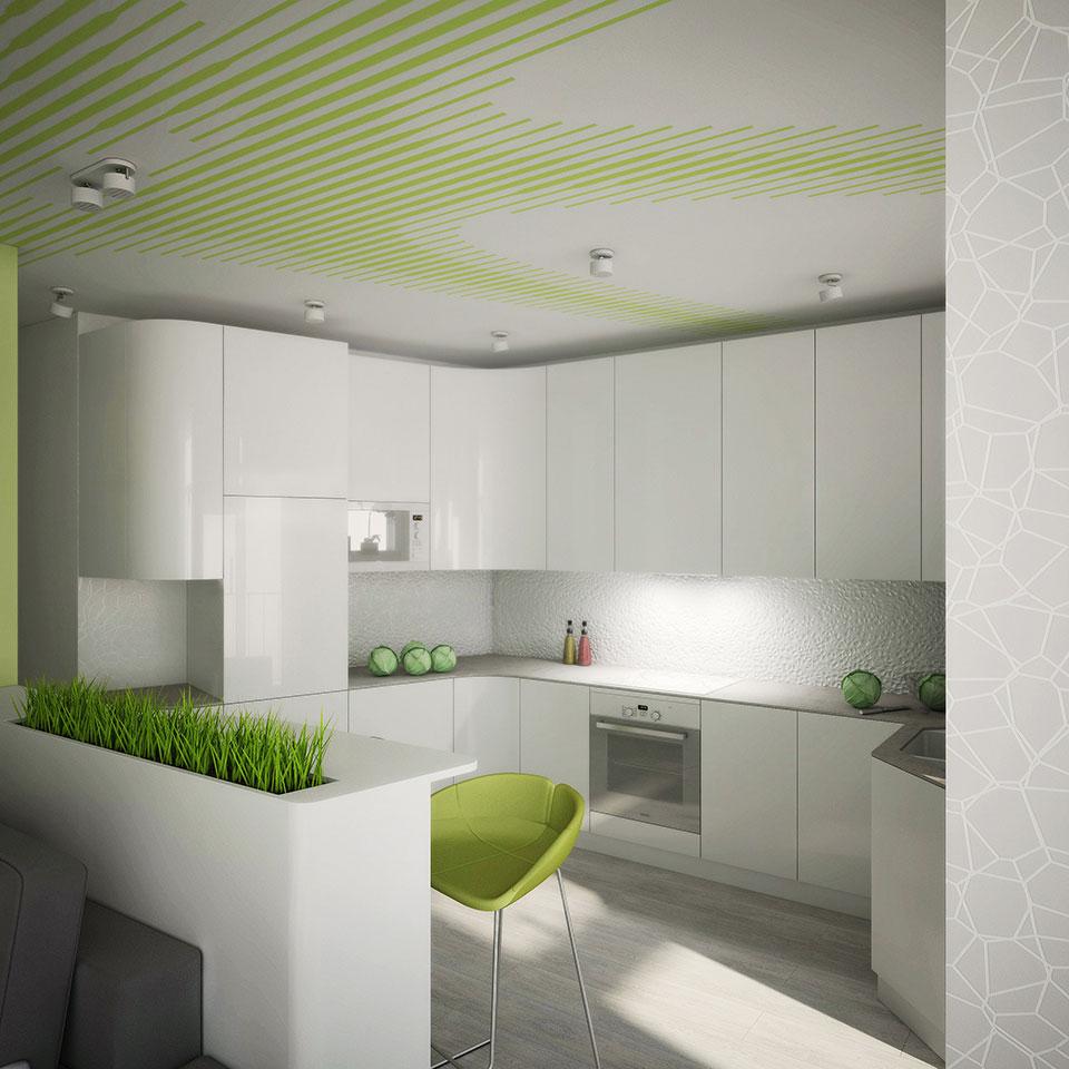 дизайн кухні в жк комфорт таун
