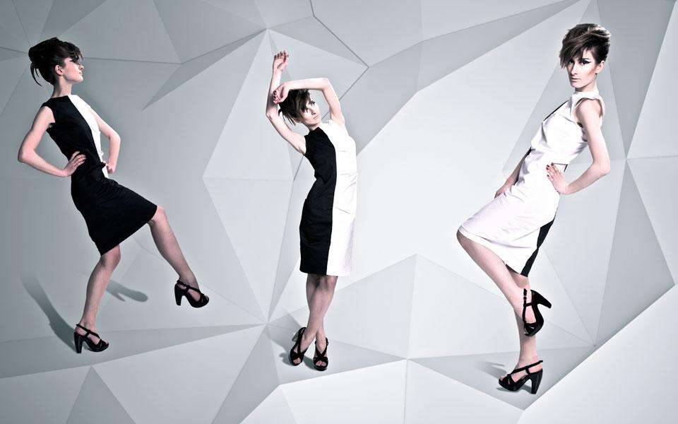 параметрична архітектура - тривимірний простір для колекції одягу