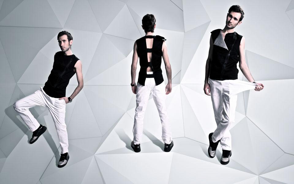 архітектурний простір для колекції одягу sqviral