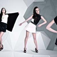 Тривимірний простір для колекції одягу Трансформ для бренду Sqviral
