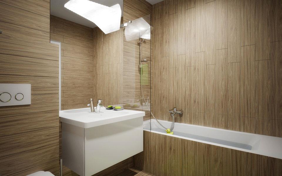 дизайн інтер'єру ванної - лікоград київ