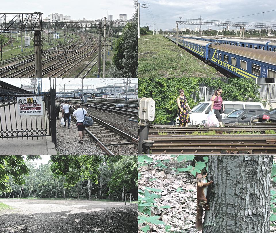 вагонне депо київ пасажирський – фотографії місцевості