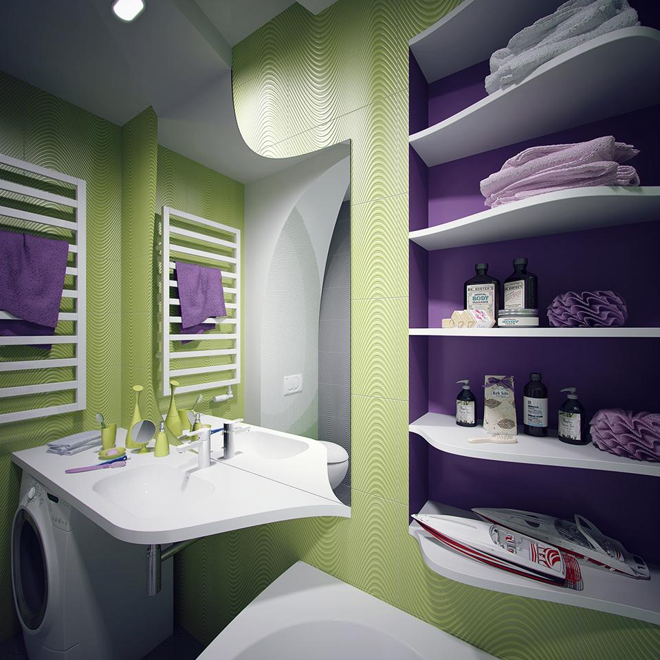 ванна кімната дизайн