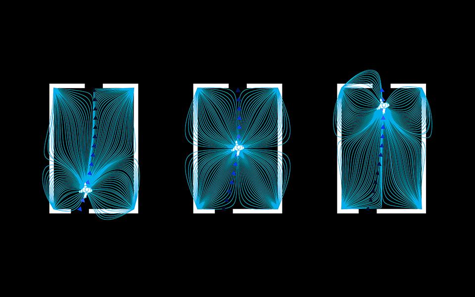 магнітні лінії, алгоритмічна архітектура