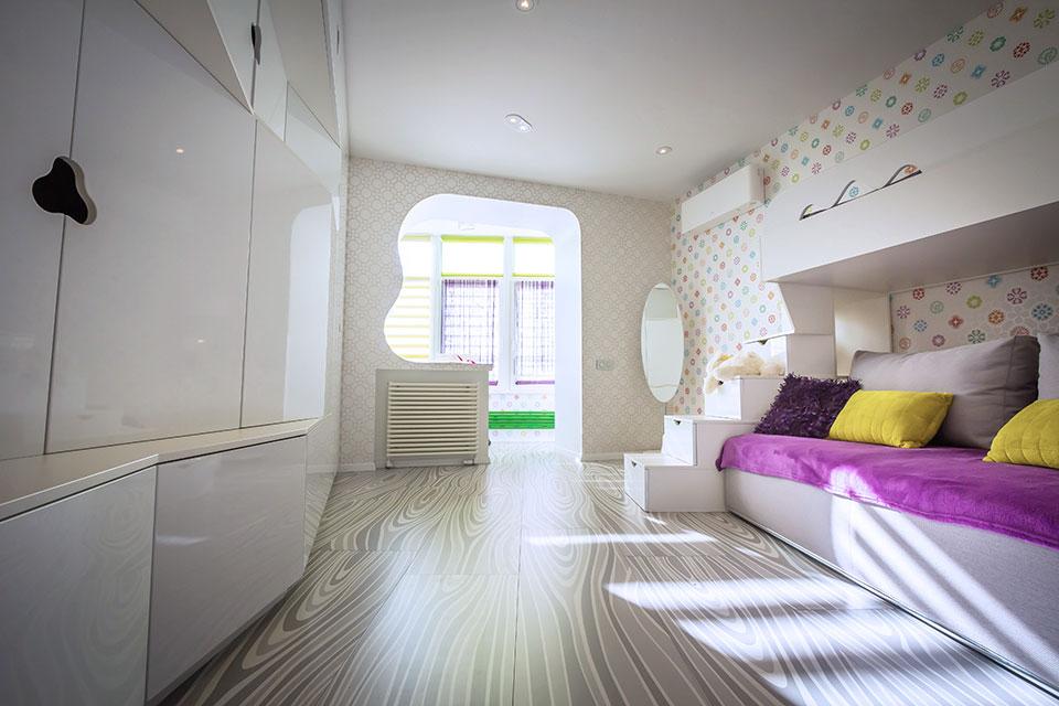параметричний дизайн дитячої кімнати київ