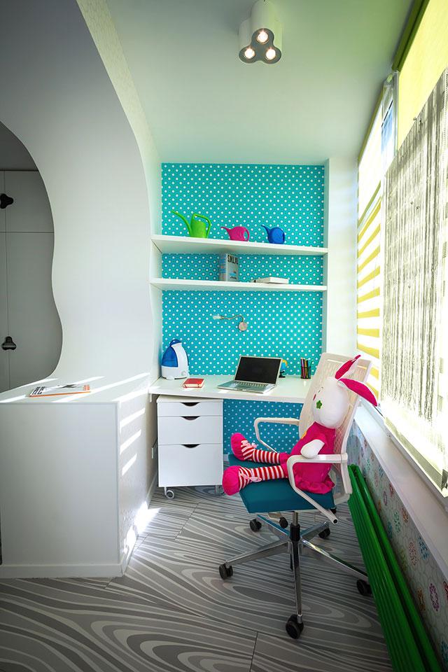 параметричний інтер'єр - дизайн дитячої кімнати