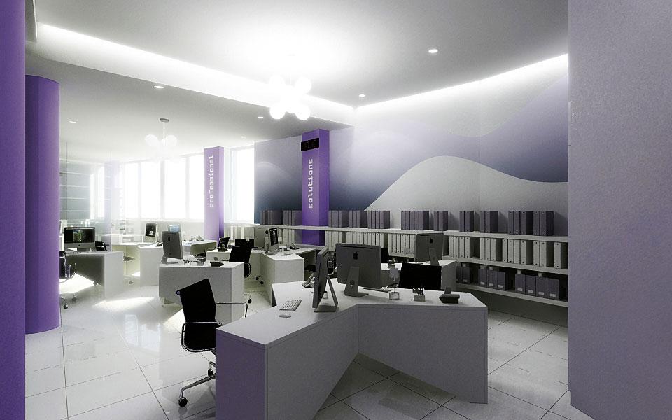 параметричний дизайн - офіс компанії itpro