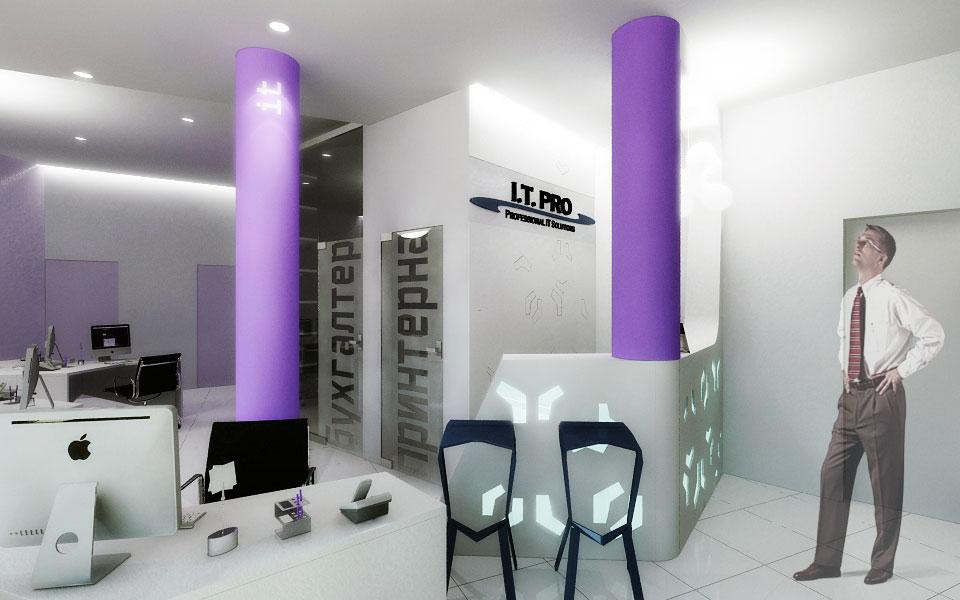параметрична архітектура - дизайн офісу компанії