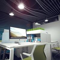 Занурений в роботу. Обчислювальний дизайн офісу у Києві.