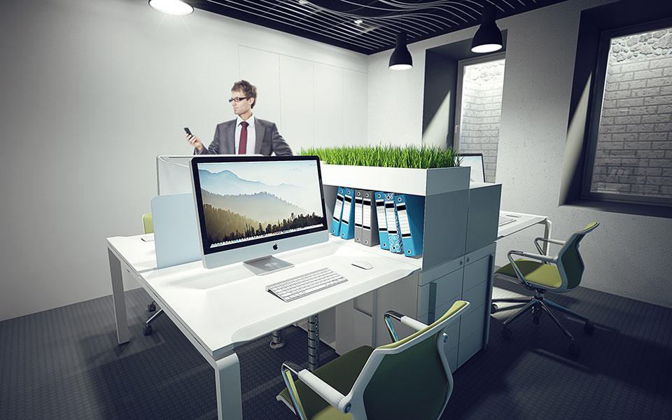 дизайн інтер'єру київ - офісні меблі