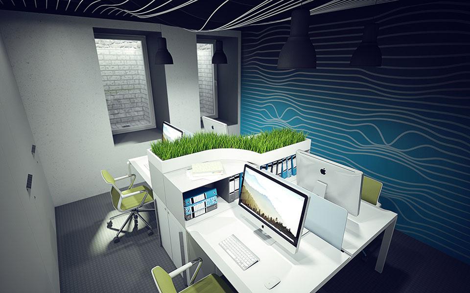 параметричний дизайн офісу київ україна