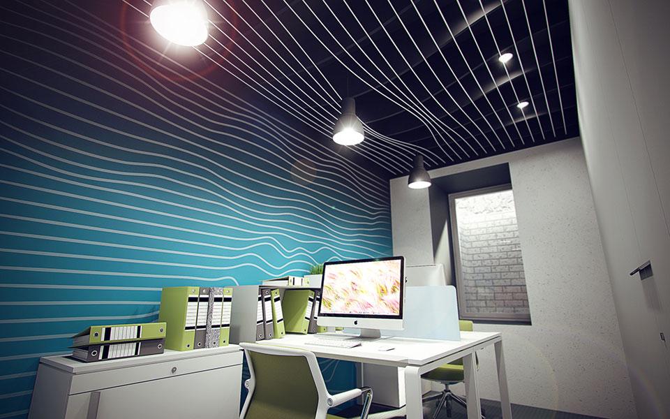 атрактор - дизайн офісу київ, україна