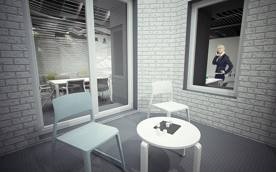 дизайн кімнати відпочинку - інтер'єр київ